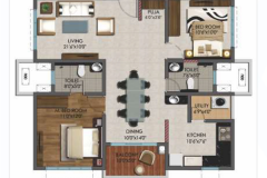 2BHK-1210sft-NORTH