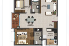 2BHK-1250sft-EAST