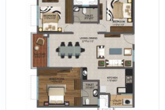 3BHK-1450sft-EAST