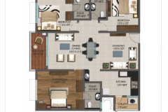 3BHK-1650sft-EAST