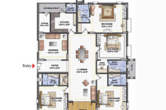 East-Facing-4BHK-3170sft